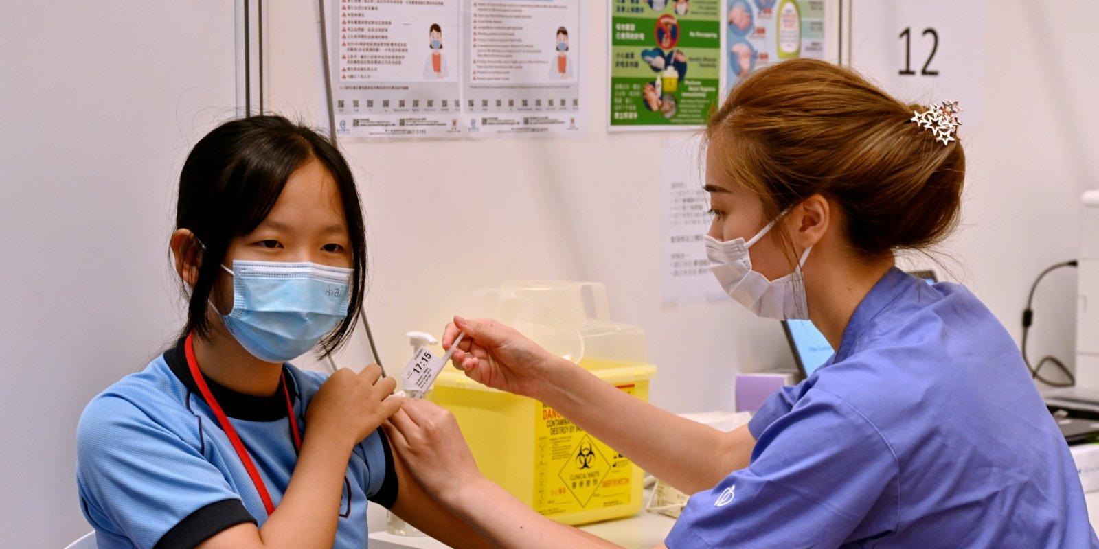 本港逾303萬人已打疫苗 今日5.6萬人打針