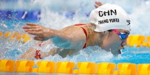 東京奧運|女子100米蝶泳加國選手麥妮爾奪金 張雨霏第二