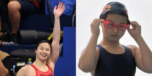 東京奧運 女子100米蝶泳冠軍麥妮爾原是江西人