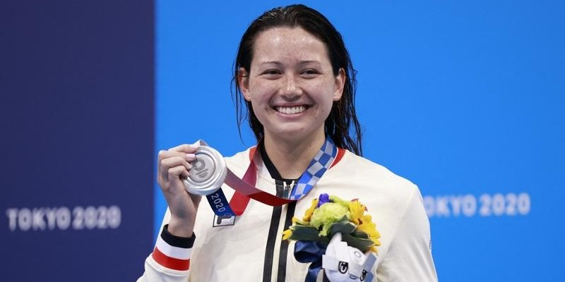 HK swimming star Haughey claims silver, 2nd medal at Tokyo Olympics