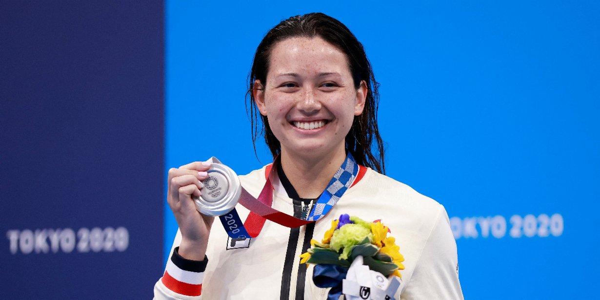 CE congratulates swim hero Haughey on record-breaking Olympic win