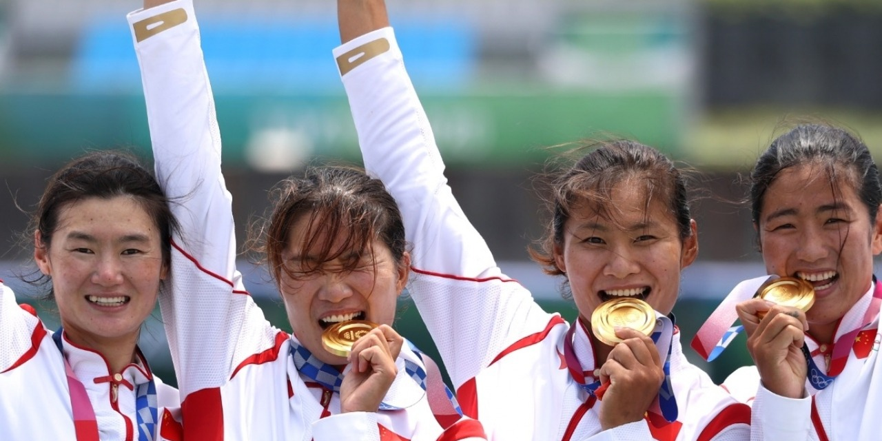 Chinese Olympic champ Lyu Yang roots for flood-hit hometown