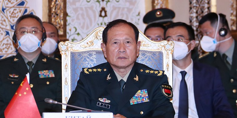 Chinese defense minister vows no concession in protecting national interests