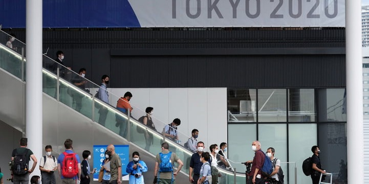 Coronavirus   Tokyo's daily cases hit new record as Olympic events roll on