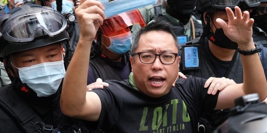 煽動文字案|「快必」譚得志帶領搞事者高喊「光時」168次