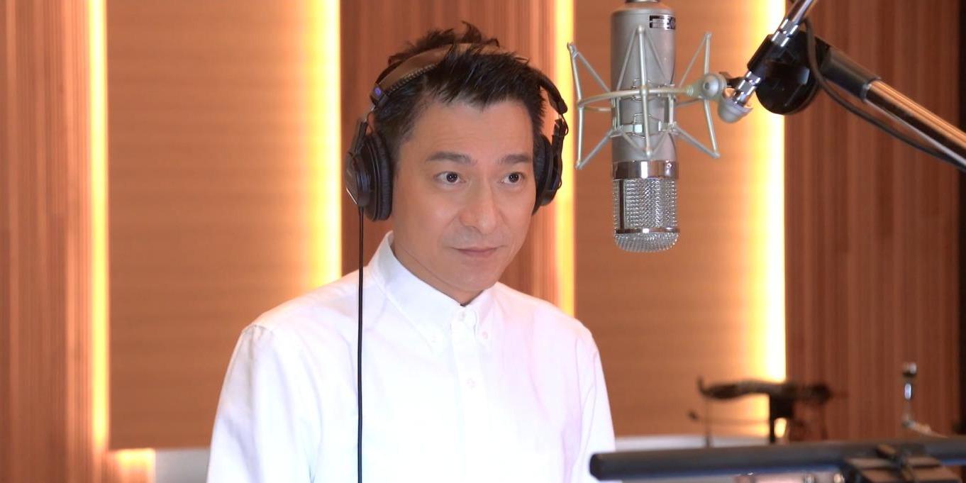 (有片)劉德華張家輝等5人合唱新版《真的漢子》 致敬陳木勝