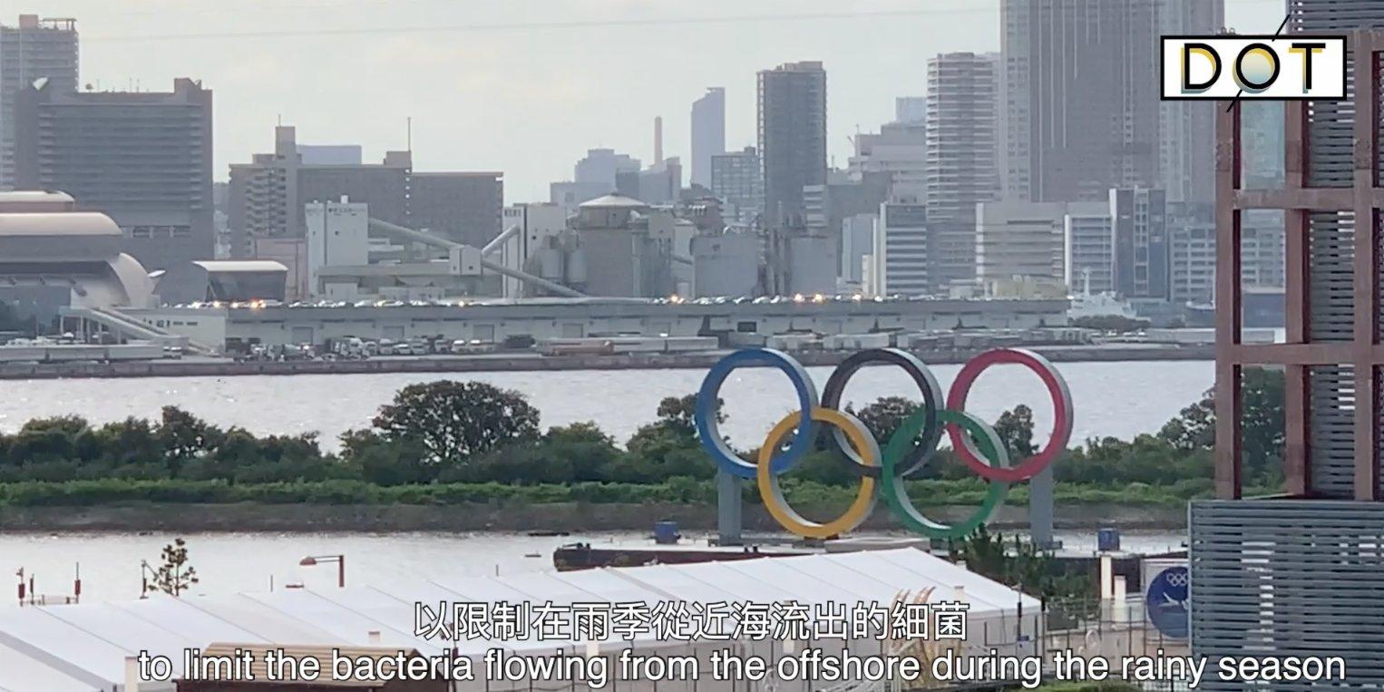 Frontline Correspondent   Tokyo triathlon swimming venue 'stinks like toilet'?