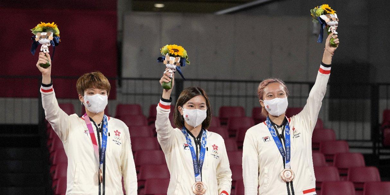 東京奧運   余國樑:乒乓銅牌對年輕一代有鼓舞