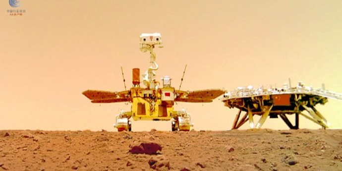 China's Zhurong Mars rover completes mission