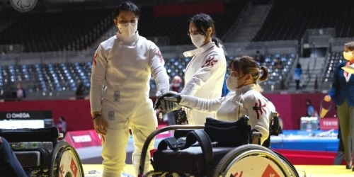 東京殘奧丨港隊女團花劍小組賽兩連勝 確定晉級4強