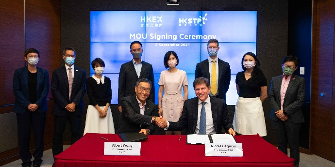 HKSTP collaborates with HKEX to elevate HK's global status in biotech & fintech