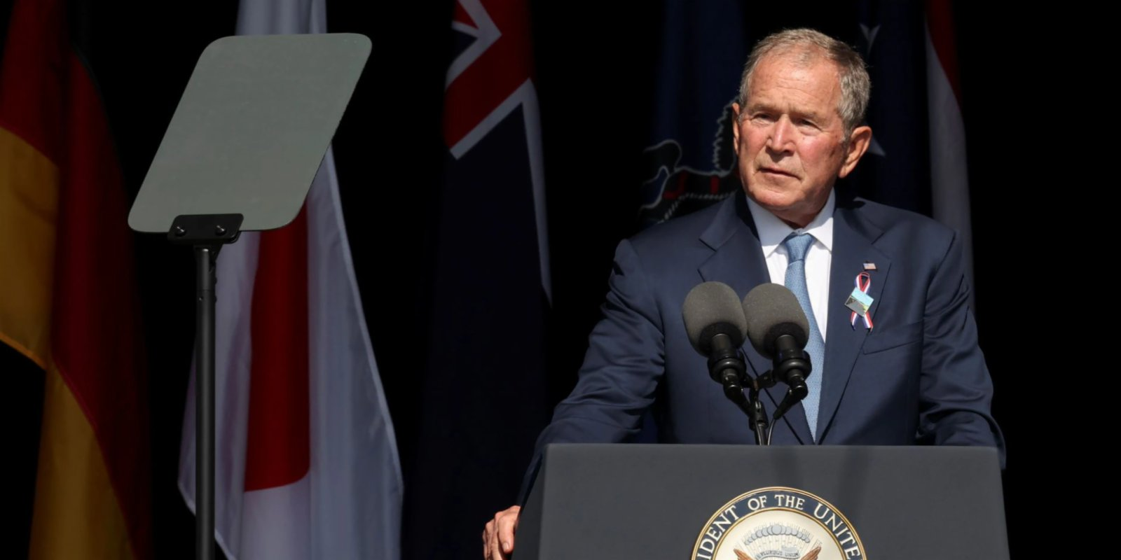 Former US President George W. Bush warns against domestic extremism on 9/11 anniversary