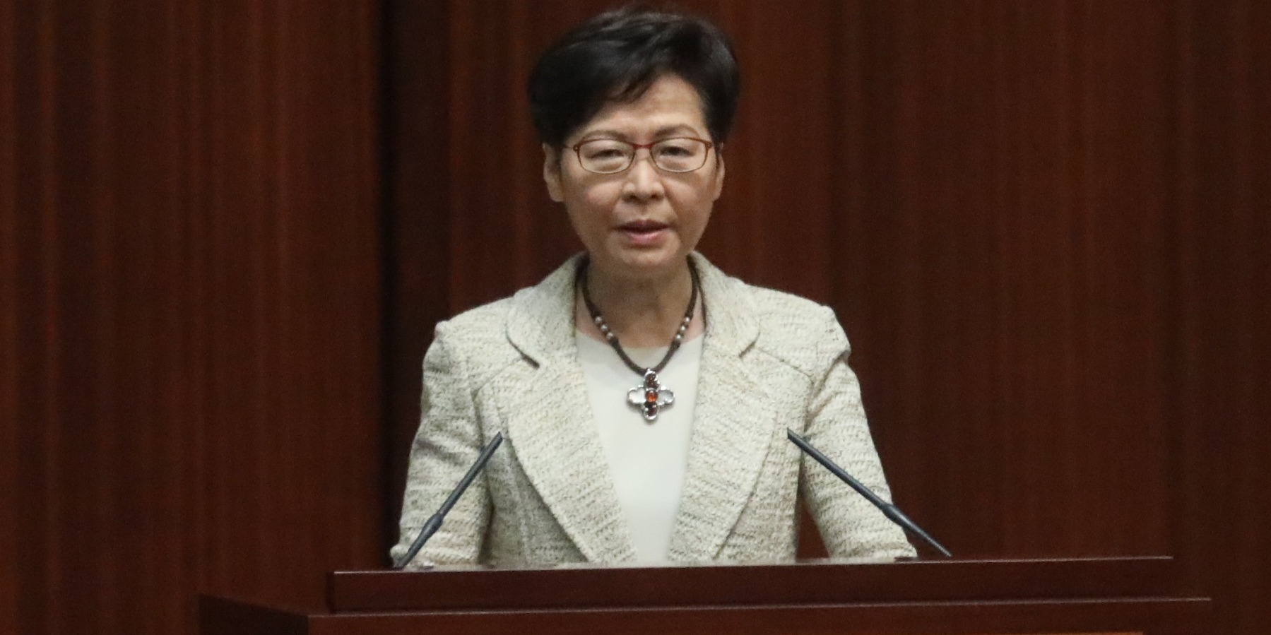CE confident in HK integrating into national development