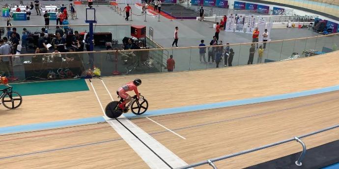 HK's Sarah Lee wins keirin bronze at 14th National Games