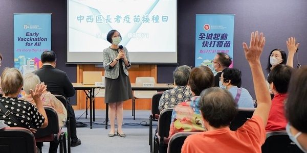 Sophia Chan urges more senior citizens to get vaccinated for self-protection