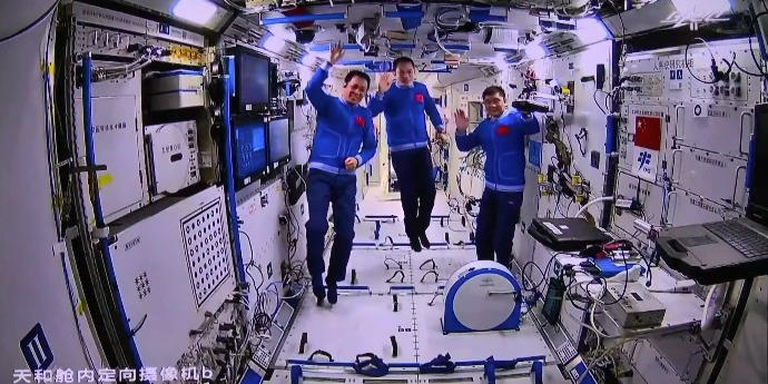 Shenzhou-12 manned spacecraft separates from China's Space Station successfully