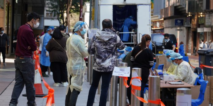 HK: Care home staff mandatory testing set