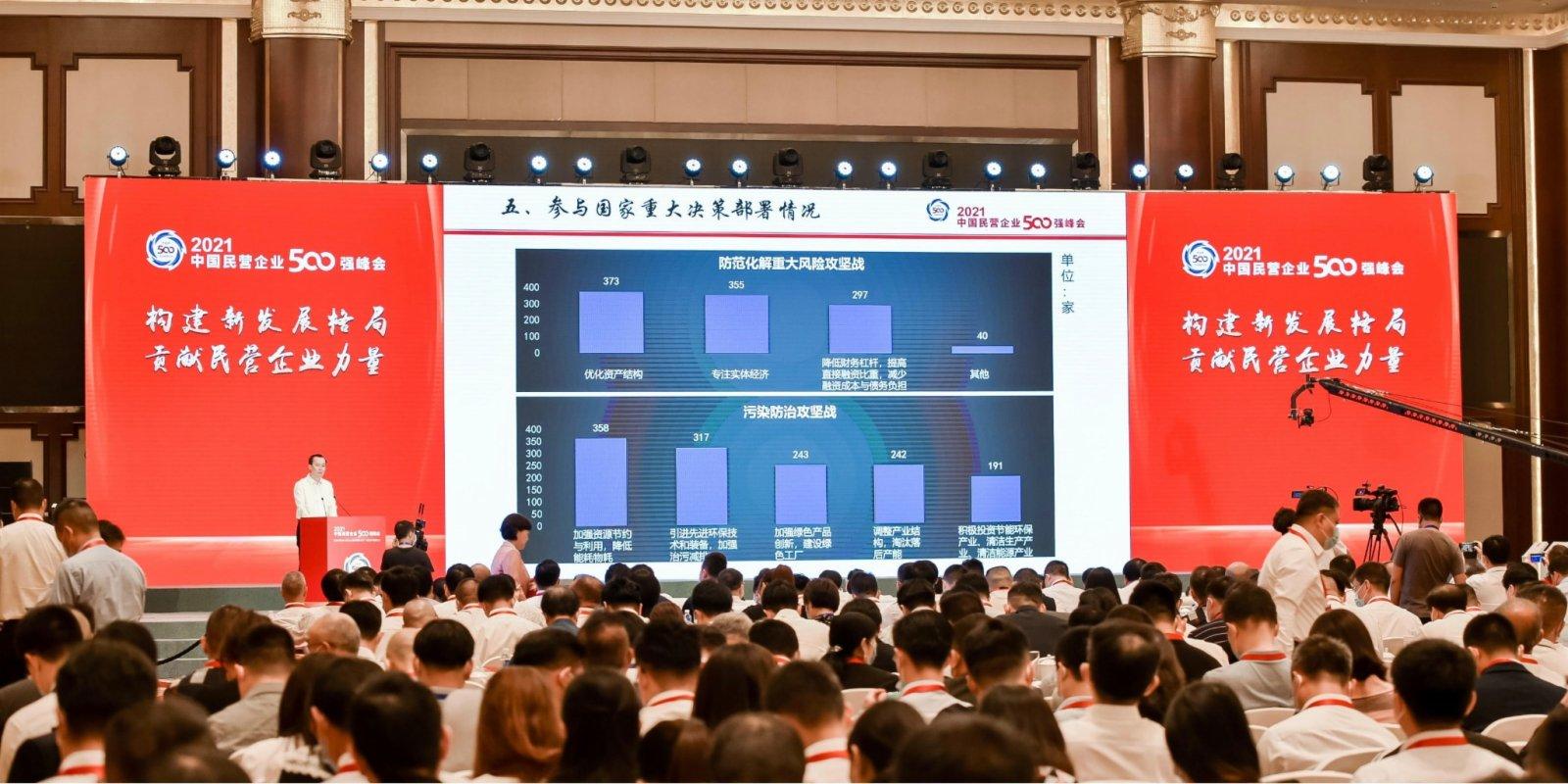2021中國民企500強發布 華為連續六年居榜首