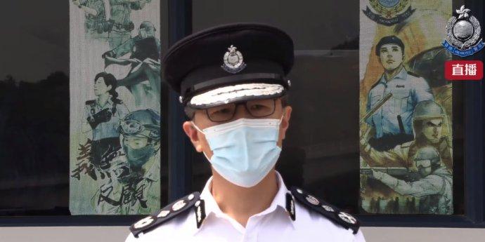 (有片)蕭澤頤:強烈譴責冷血罪犯 加強反走私行動
