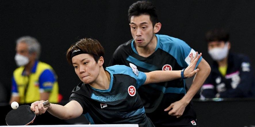 乒乓亞錦賽港隊混雙分途戰四強 兩獎牌穩落袋