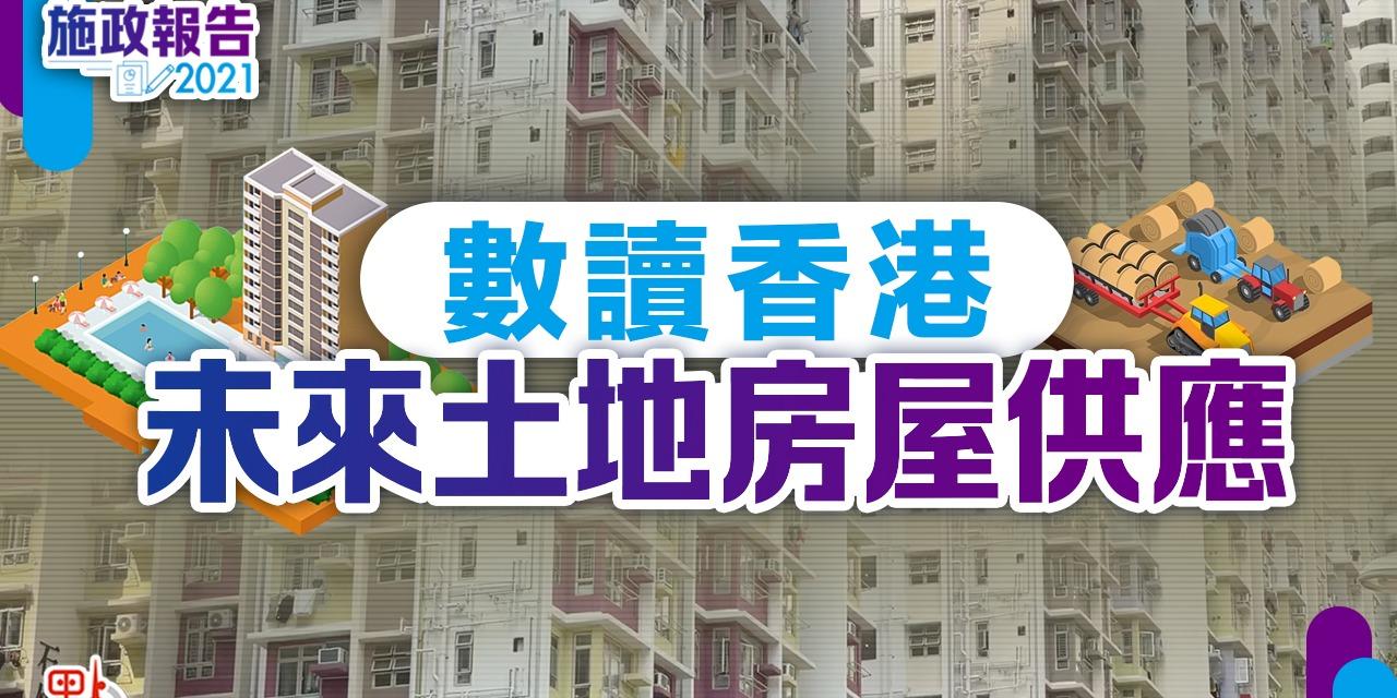 施政報告|數讀香港未來土地房屋供應