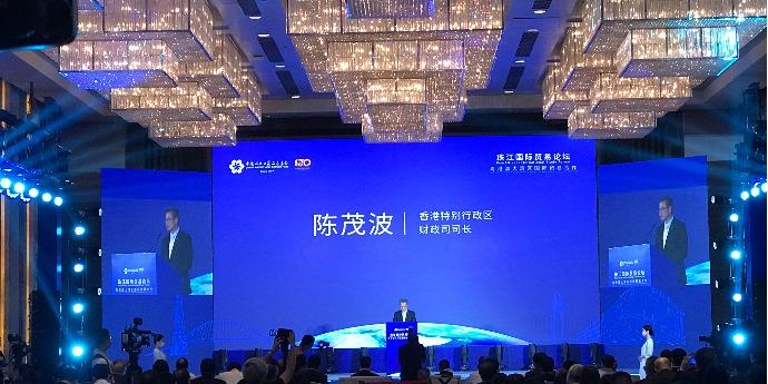 陳茂波:將在大灣區打造多個航空物流基地