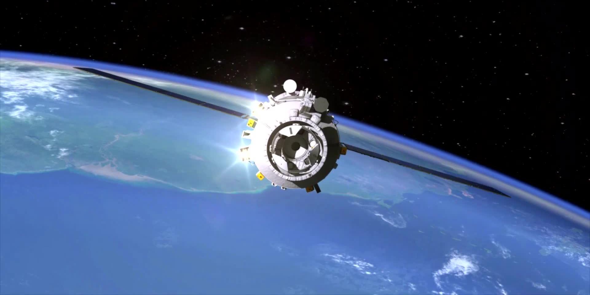 對接成功!90秒動畫全覽神十三載人飛行任務