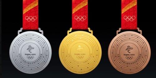北京冬奧獎牌揭曉:五環同心 與「金鑲玉」呼應